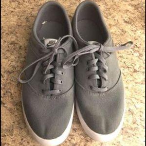 Nike gray shoes